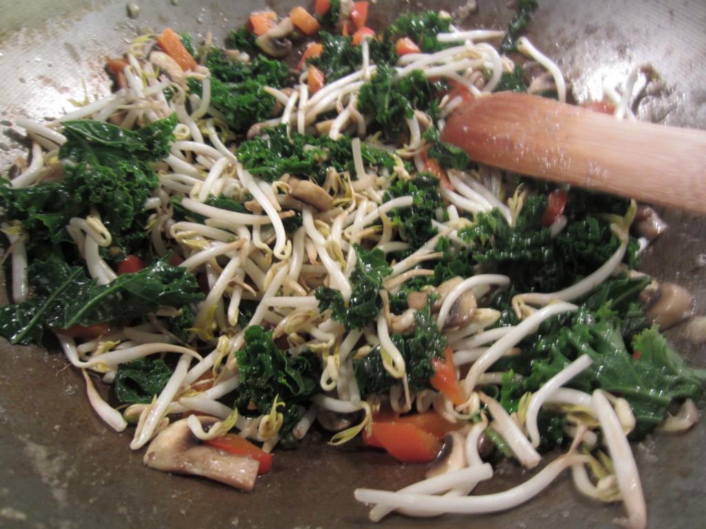veggies in stir fry